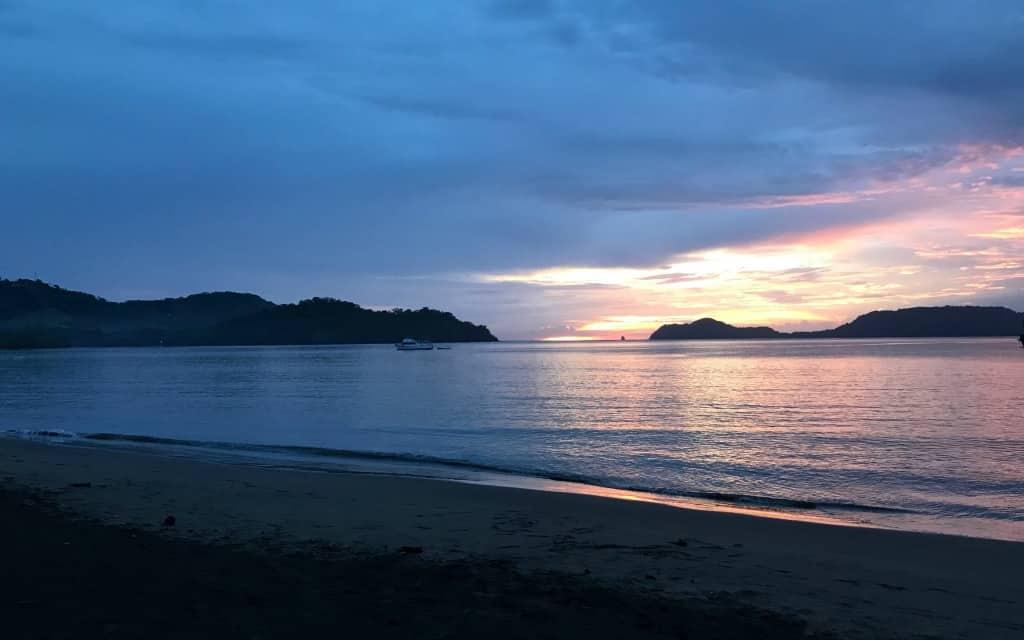Costa Rican Sunset Golfo de Papagayo-Kirsten Maxwell