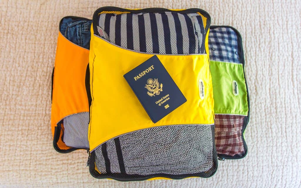 Packing tips: Our packing cubes