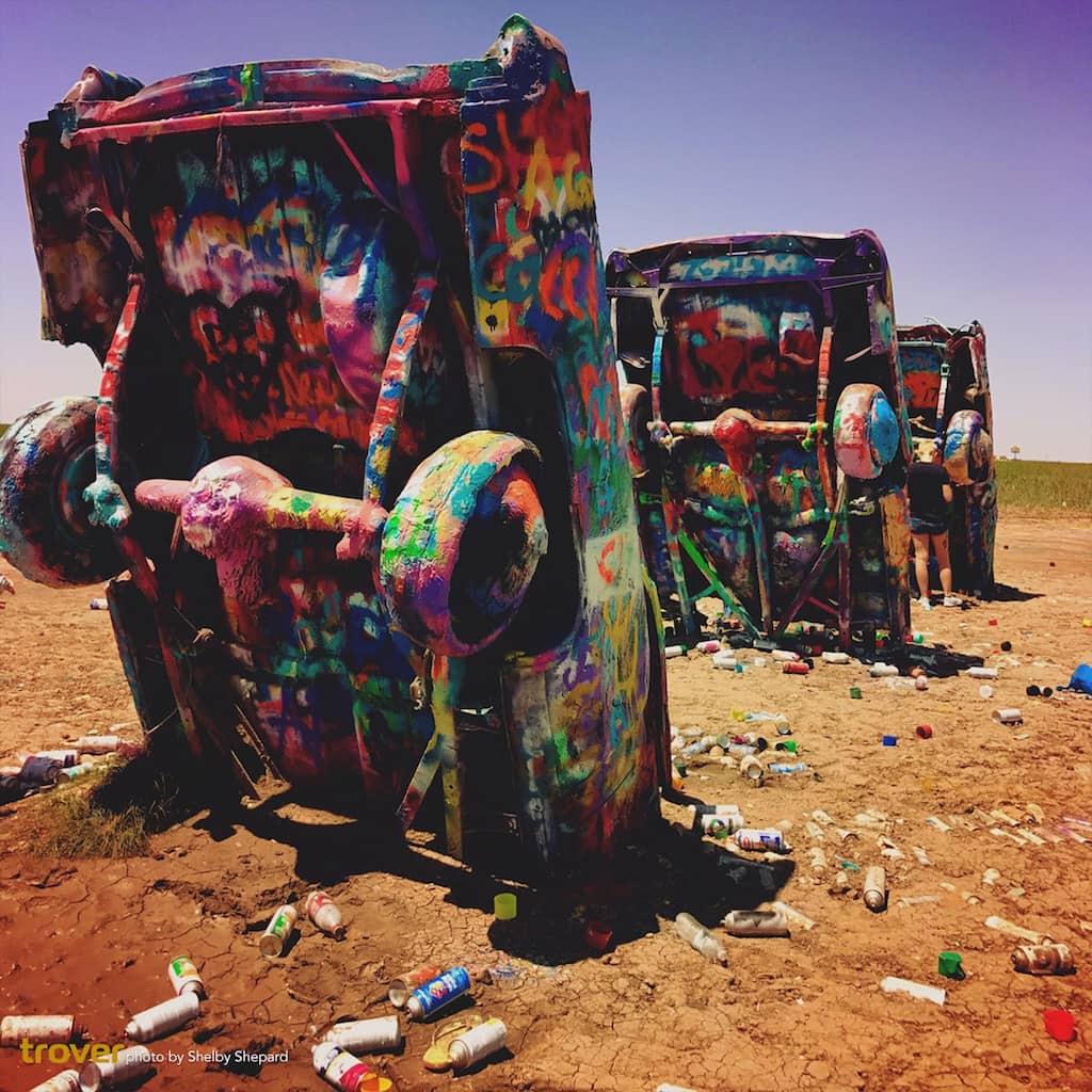 Texas Road Trip - Cadillac Ranch