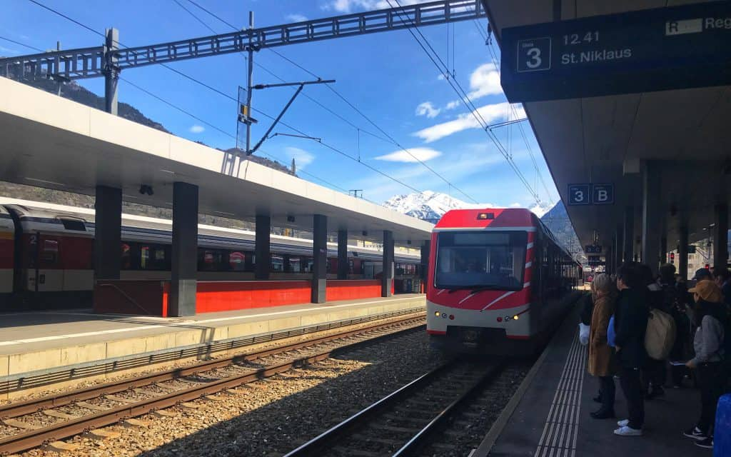 Conseils de voyage en Suisse - Voyager en train avec le Swiss Rail Pass