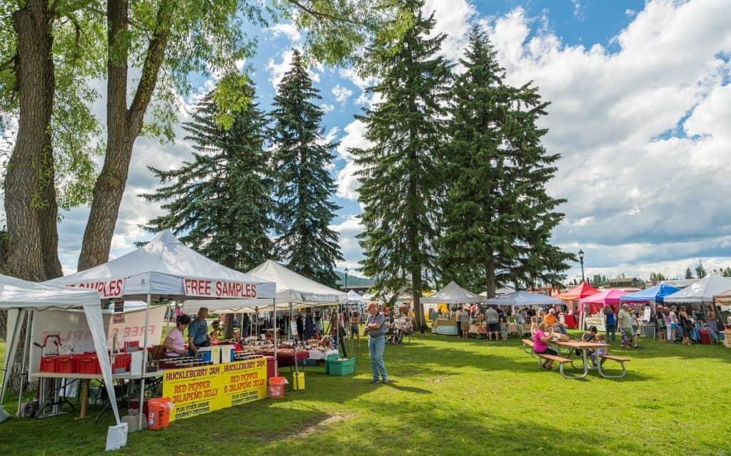 Whitefish, Montana - The Whitefish Farmers Market