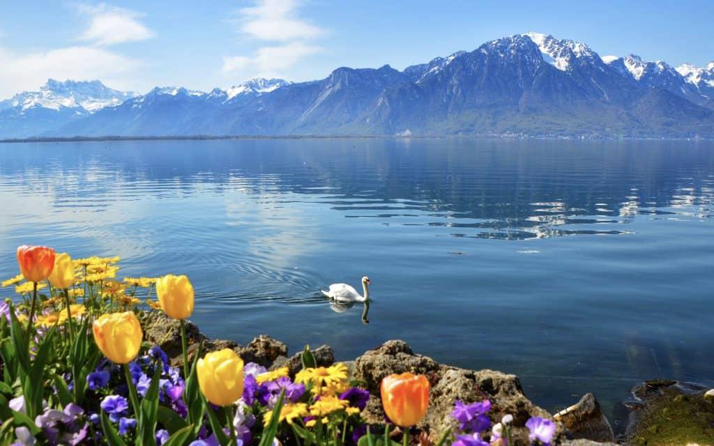 Switzerland Lake Geneva