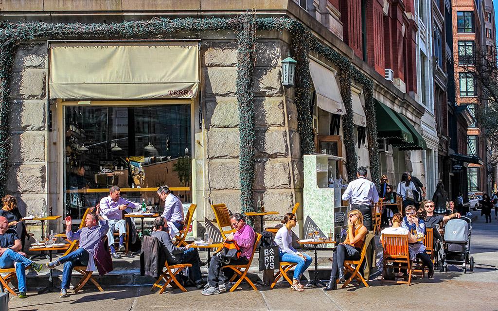 8 Prime Al Fresco Dining Spots in New York City