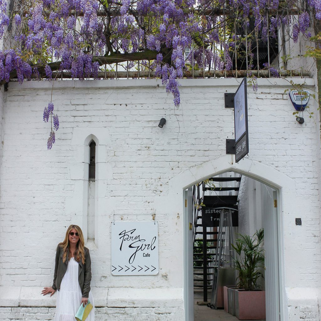 Farm Girl restaurant in London