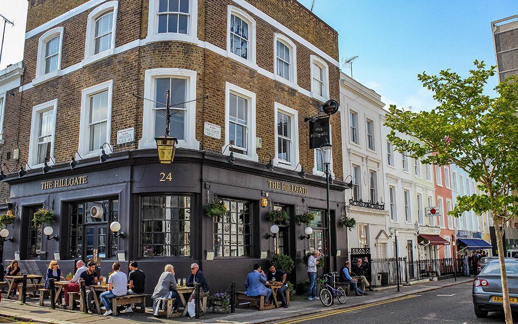 The Hillgate Pub in London
