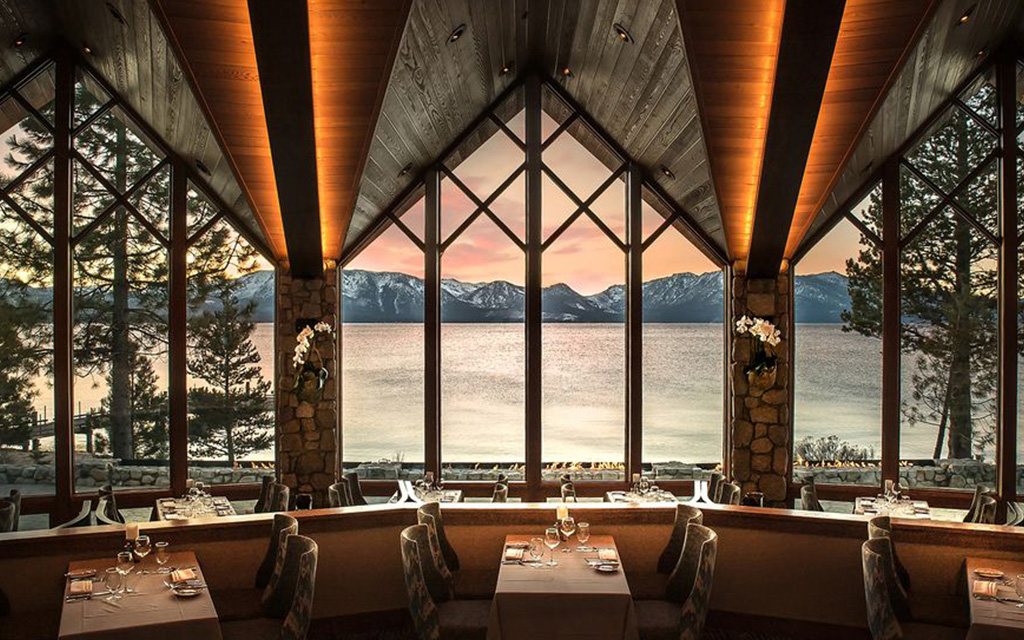 The Lodge at Edgewood Tahoe Dining Room