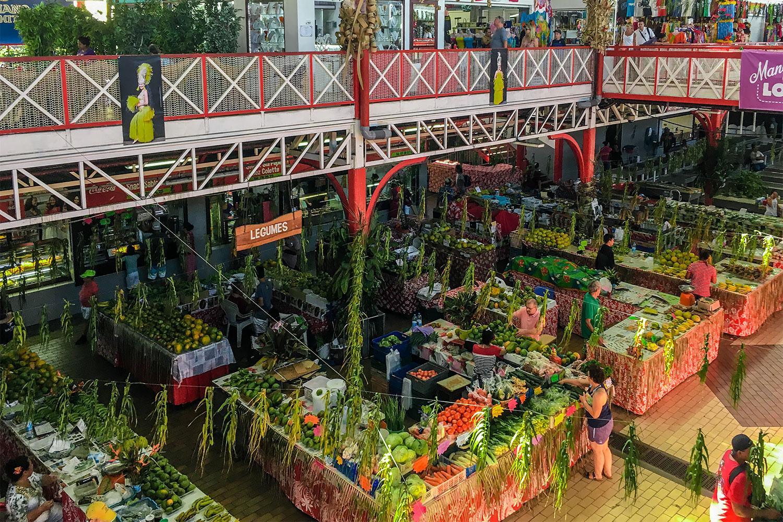 Tahiti Papete Market