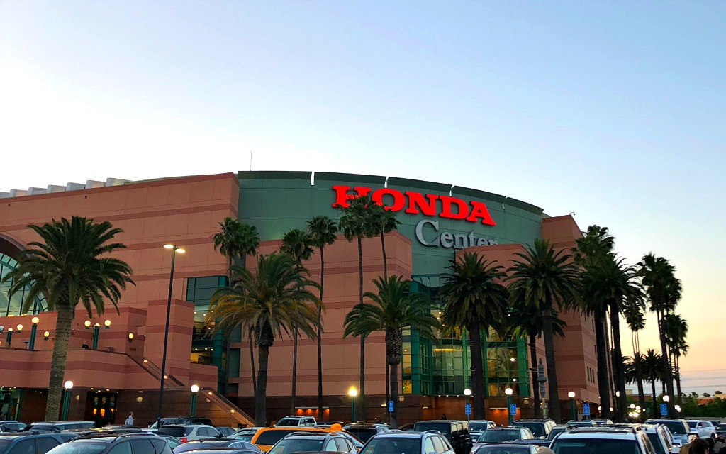Honda Center in Anaheim - livingmividaloca.com. Click for more things to do in Anaheim besides Disneyland.