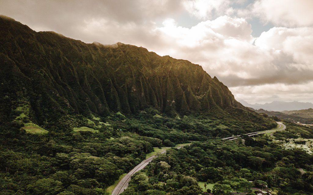 Oahu is literally Jurassic Park!