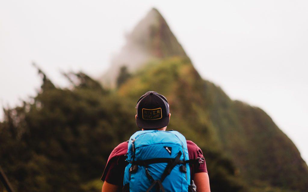 Hiking the Pali Notches in Oahu