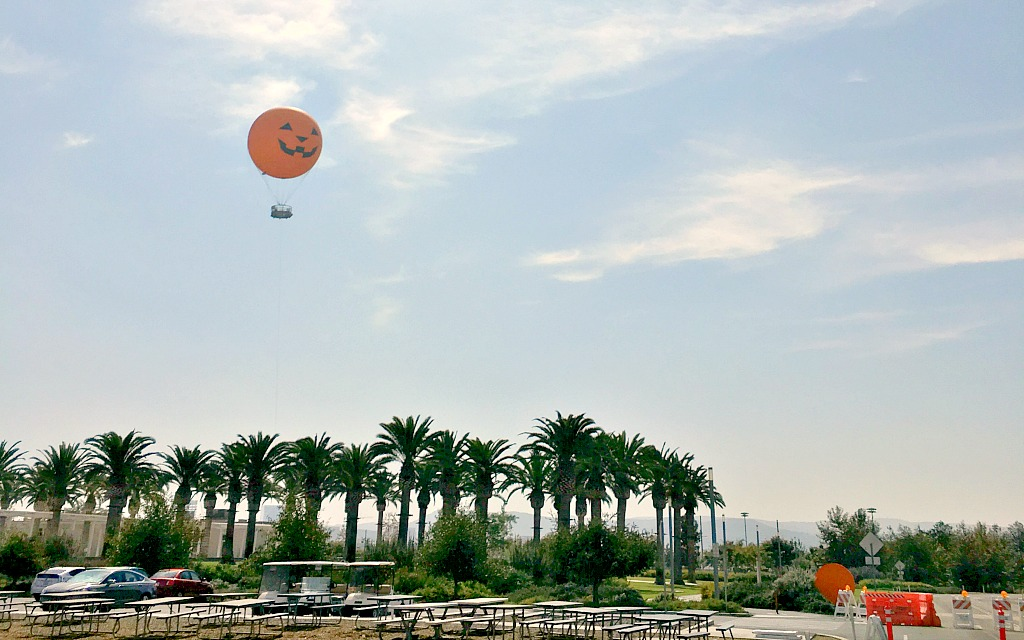 Orange County Great Park in Irvine.  Things to do in Anaheim besides Disneyland.