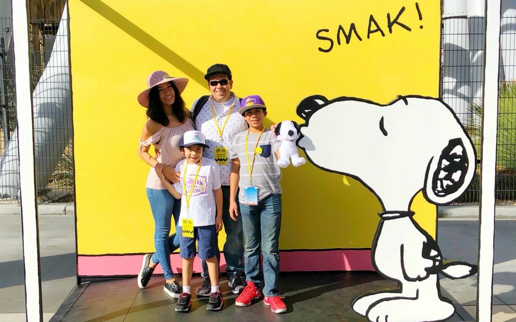 Snoopy at Knott's Berry Farm