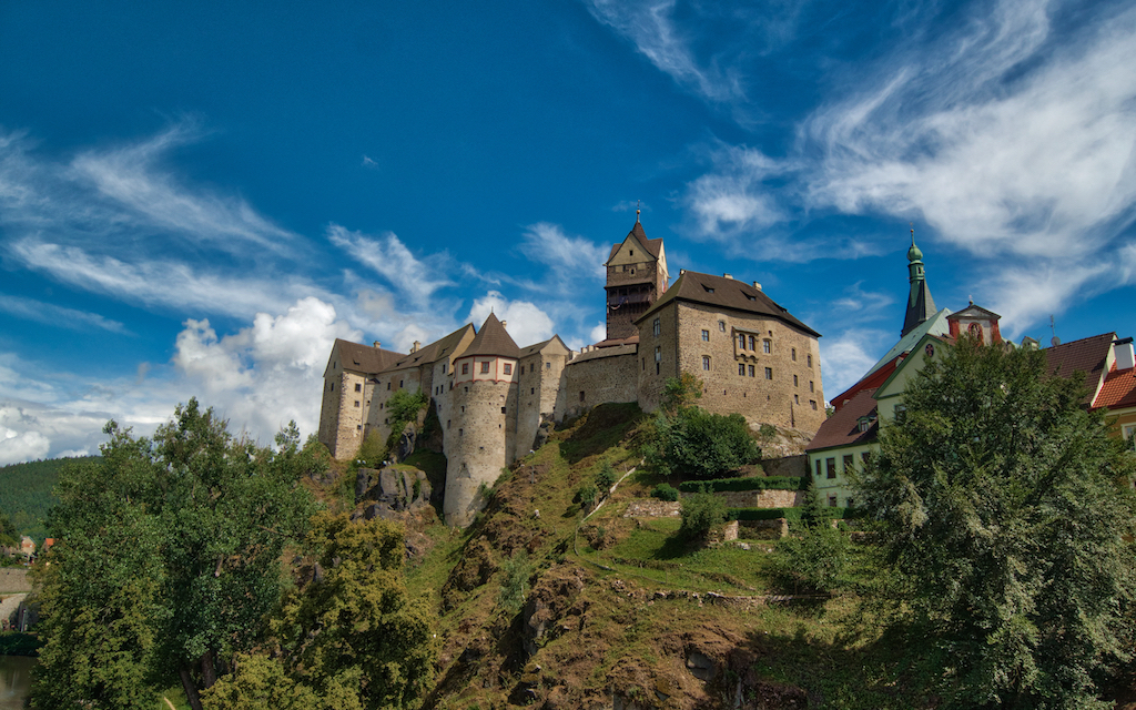 Loket Castle in the Czech Republic is beyond Prague. Photo by Mike or MikesRoadTrip.com
