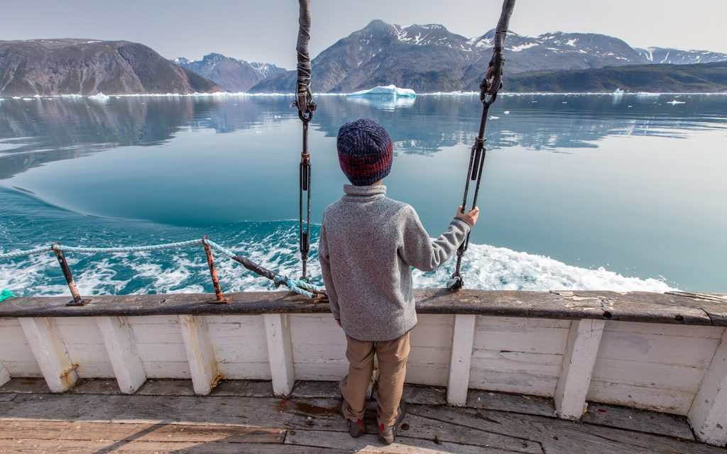 Around the world - Summers are cool in Greenland, but the rest of the year is far colder!