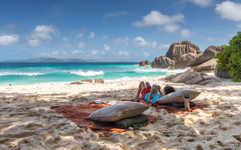 Around the world - Relaxing in the Seychelles - a perfect addition to a RTW trip given how remote the islands are