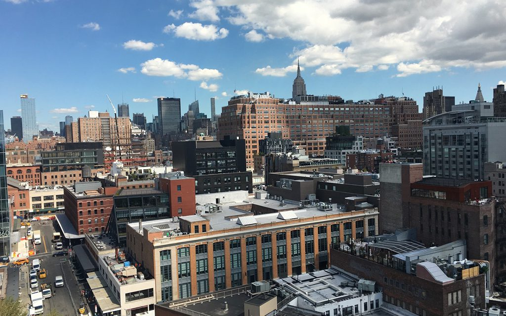 view from the whitney musuem of american art-Sam Y