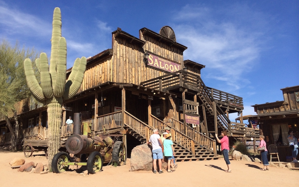 Goldfield Ghost Town by MikesRoadTrip.com