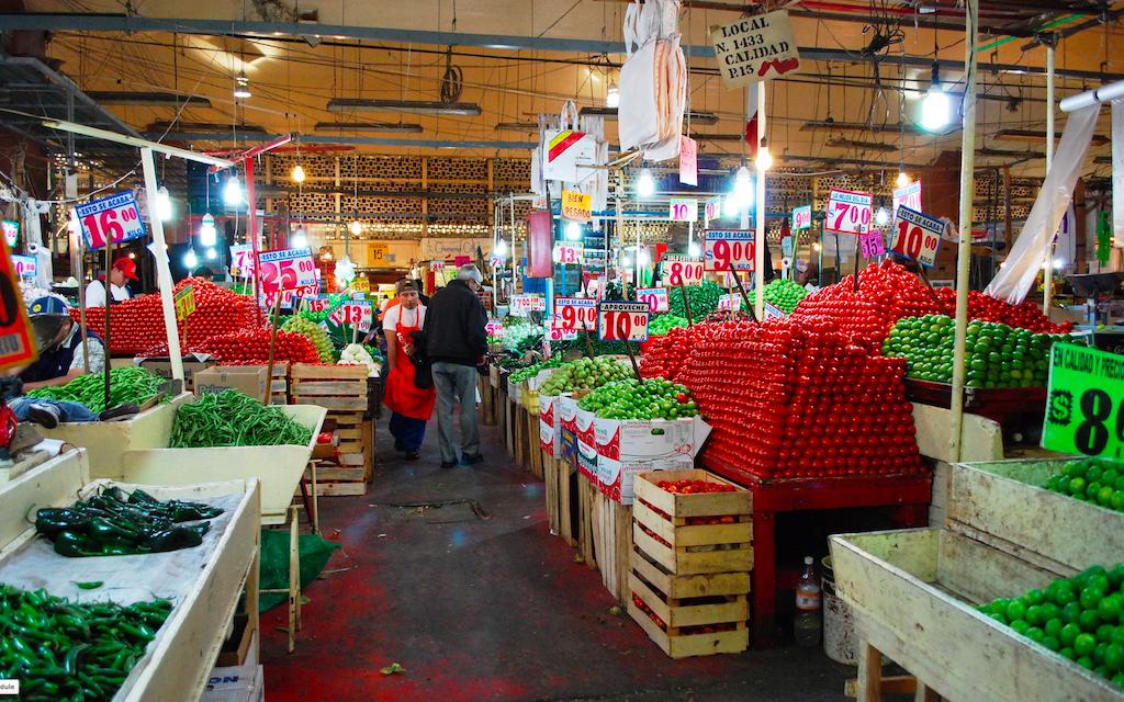Mexico City La Merced Market