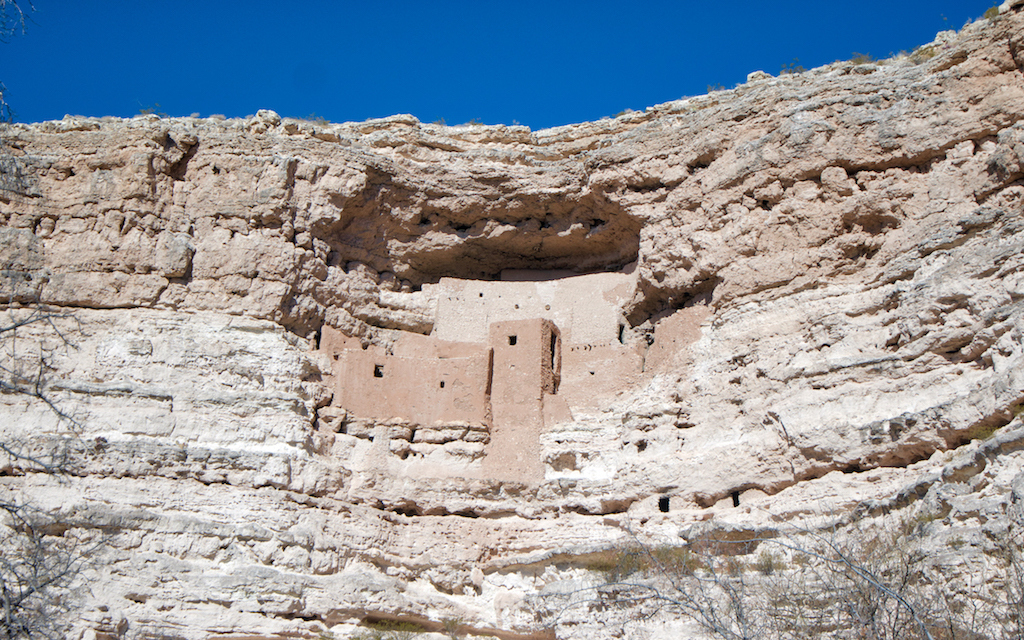 Montezuma Castle close up by MikesRoadTrip.com