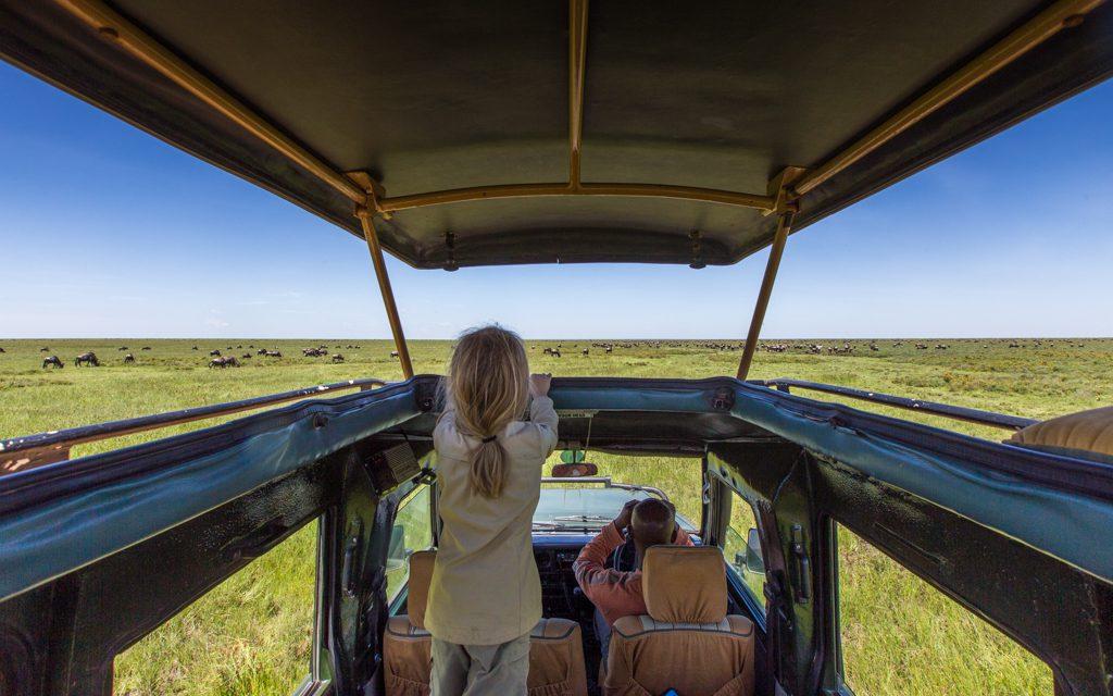 Safari tips - Watching the wildebeest migration near Lake Ndutu, Tanzania (in February)