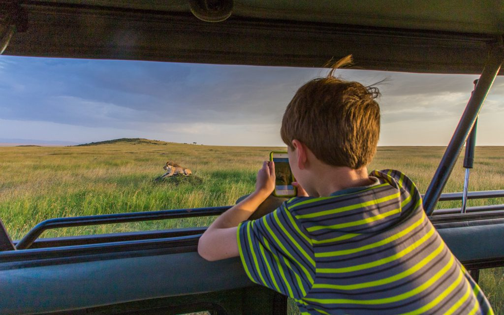 Safari tips - It was only my son and I on some of our game drives at the end, as my daughters opted out and my wife stayed with them. We had the lions to ourselves!