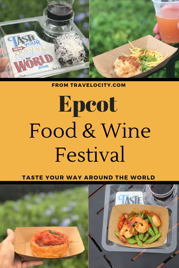 From now until November 12th, the Epcot Food and Wine Festival is the featured foodie attraction at Walt Disney World in Orlando, Florida.