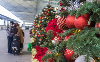 The 6 Most Festive US Airports This Holiday Season