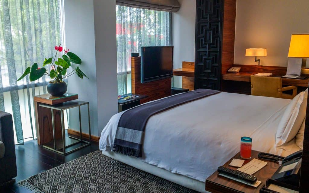 Best Big City Hotels - My room at Las Alcobas in Mexico City