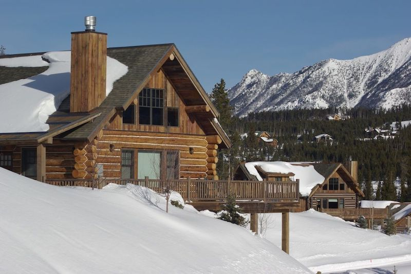 Powder Ridge Cabins at Big Sky Resort, Big Sky Montana