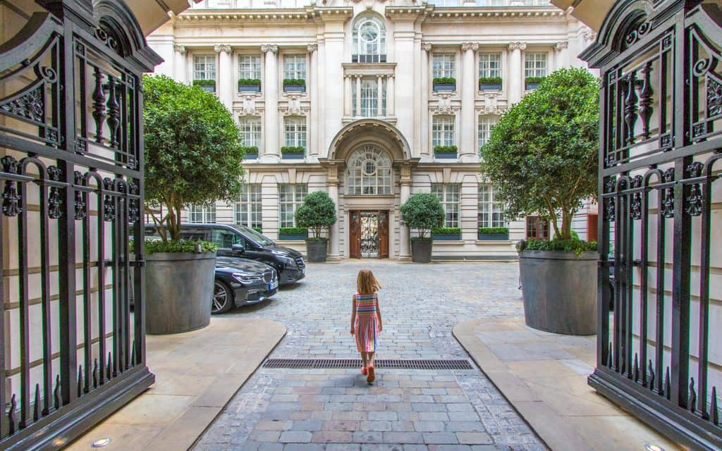 Best Big City Hotels - Walking into the Rosewood London