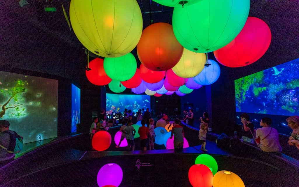 Singapore: Playing at the ArtScience Museum