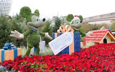 Disney World Christmas Events in Full Swing
