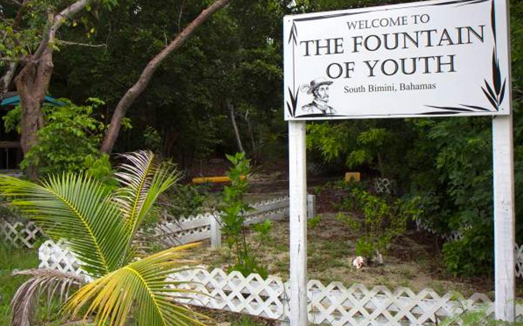 Fountain of Youth in South Bimini