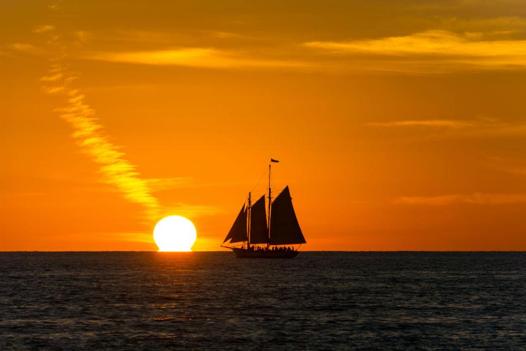 Key West, sunset, Florida