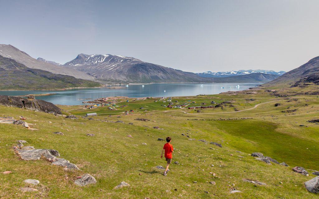 Where to travel in 2019 - Hiking through sheep pastures to Igaliku, Greenland