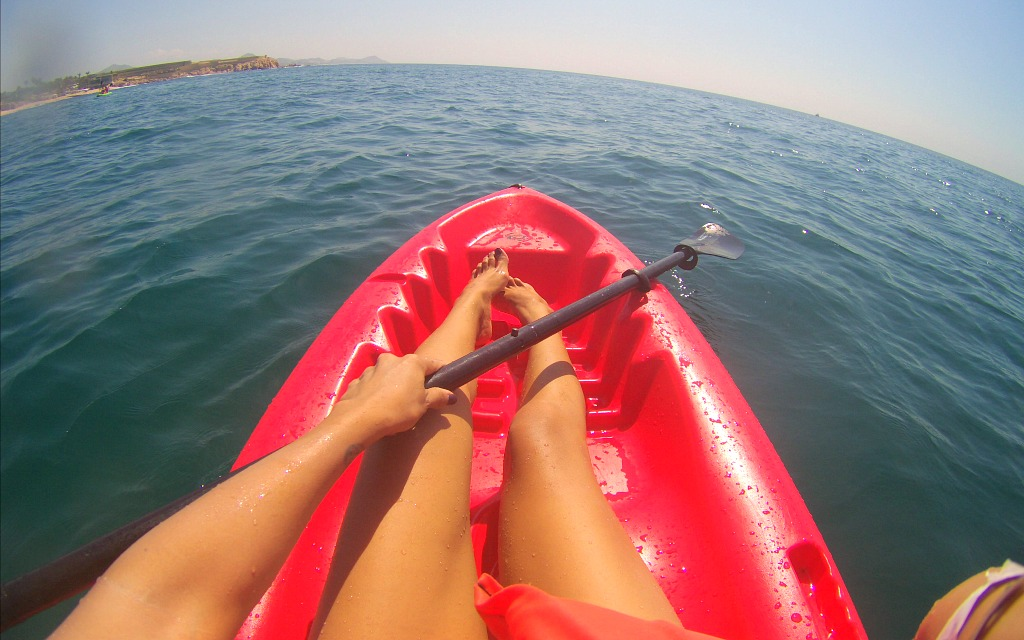 Kayaking in Los Cabos with Cabo Adventures