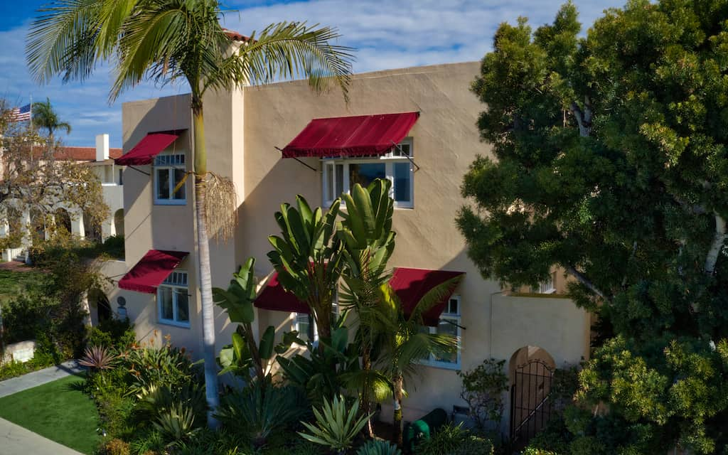 Bed and Breakfast Inn La Jolla outside. Photo by Mike Shubic of MikesRoadTrip.com