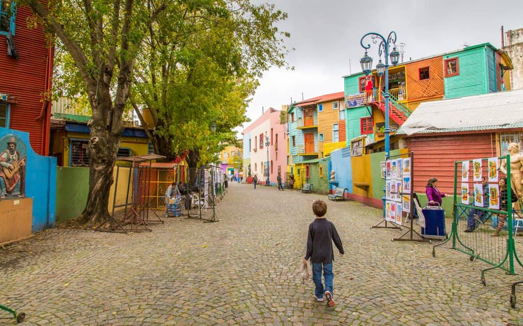 South America - The La Boca area of Buenos Aires, Argentina
