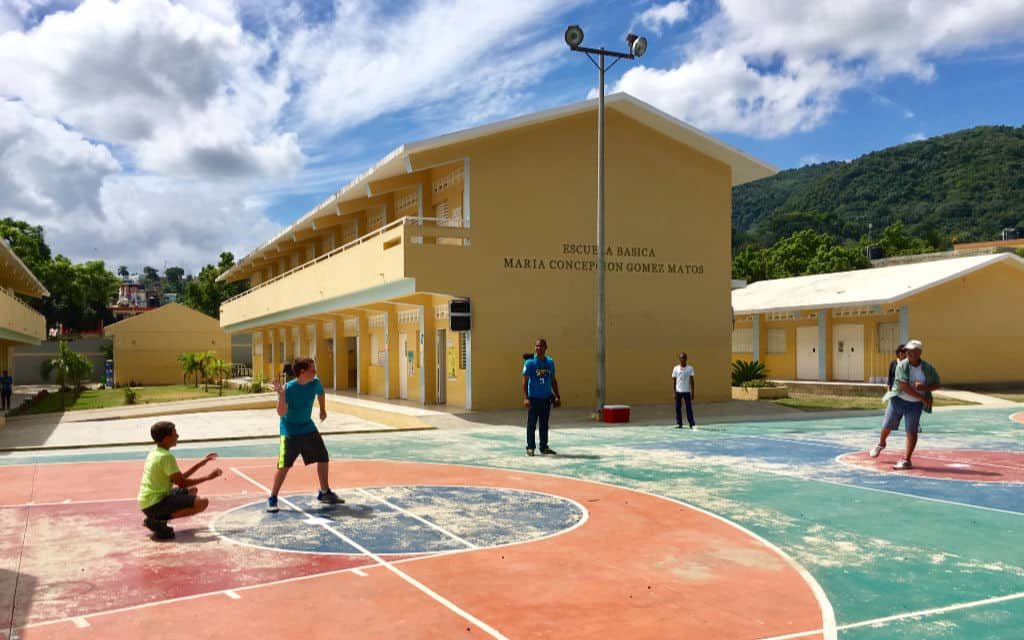 Playing Sports with locals on a volunteer vacation-Kids Are A Trip