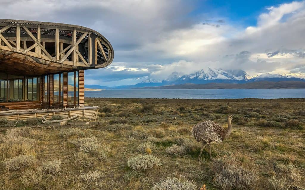 South America - Tierra Patagonia in southern Chile