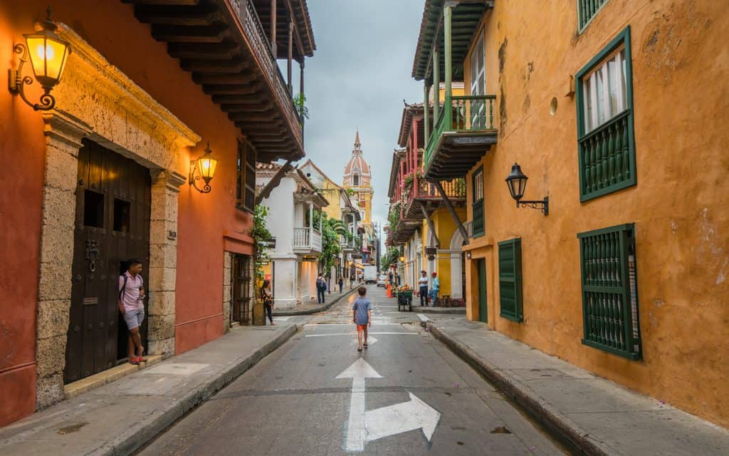South America - Walking around Cartagena, Colombia