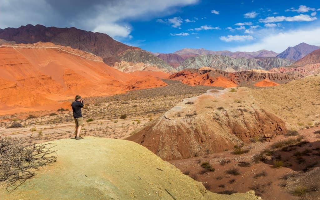 South America - Photographing in stunning La Yesera, in Quebrada de las Conchas, Argentina