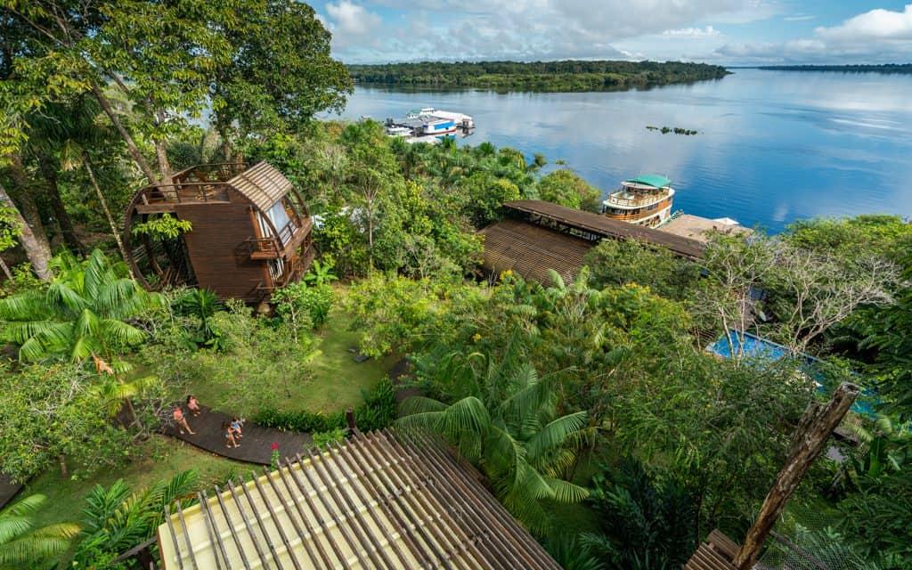 South America - Mirante do Gavião in Brazil's Amazon Rainforest