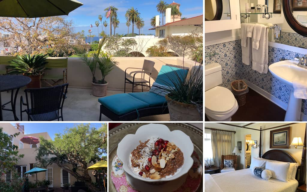 bed and breakfast inn la jolla by Mike of MikesRoadTrip.com