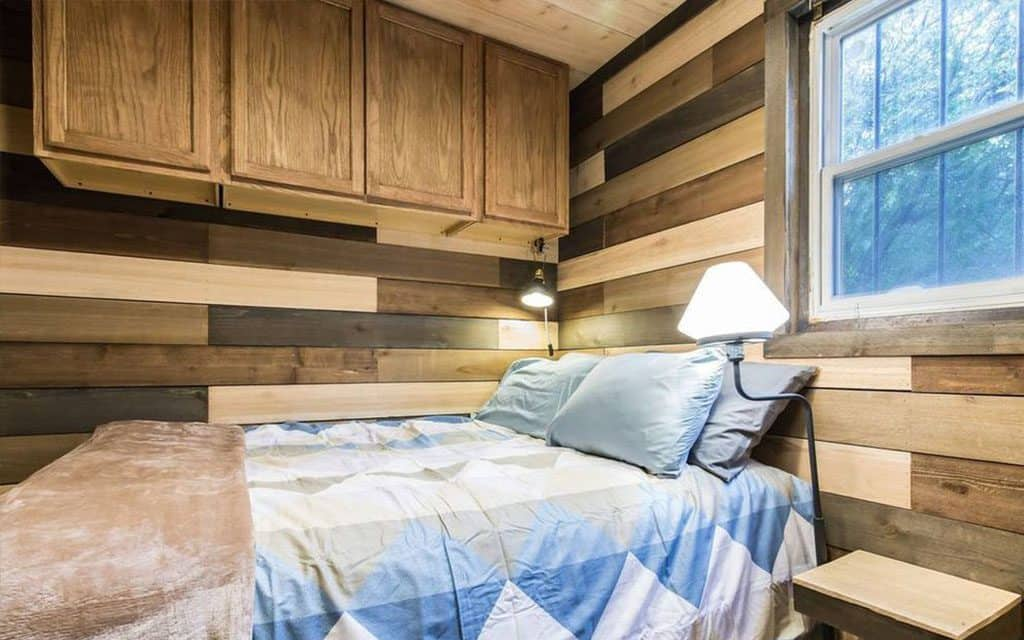 blue steel tiny home