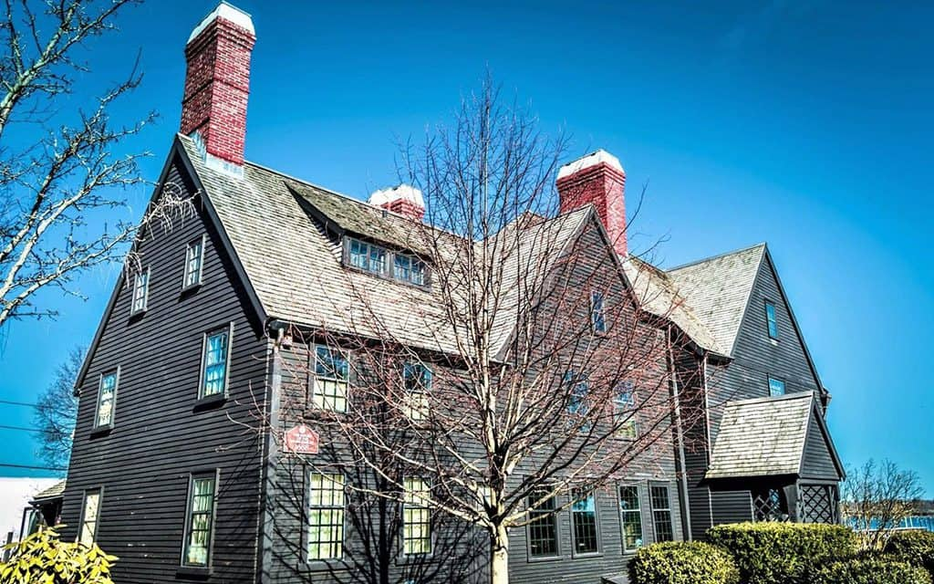 house of seven gables in Salem