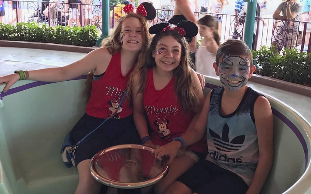 Disney with tweens and teens