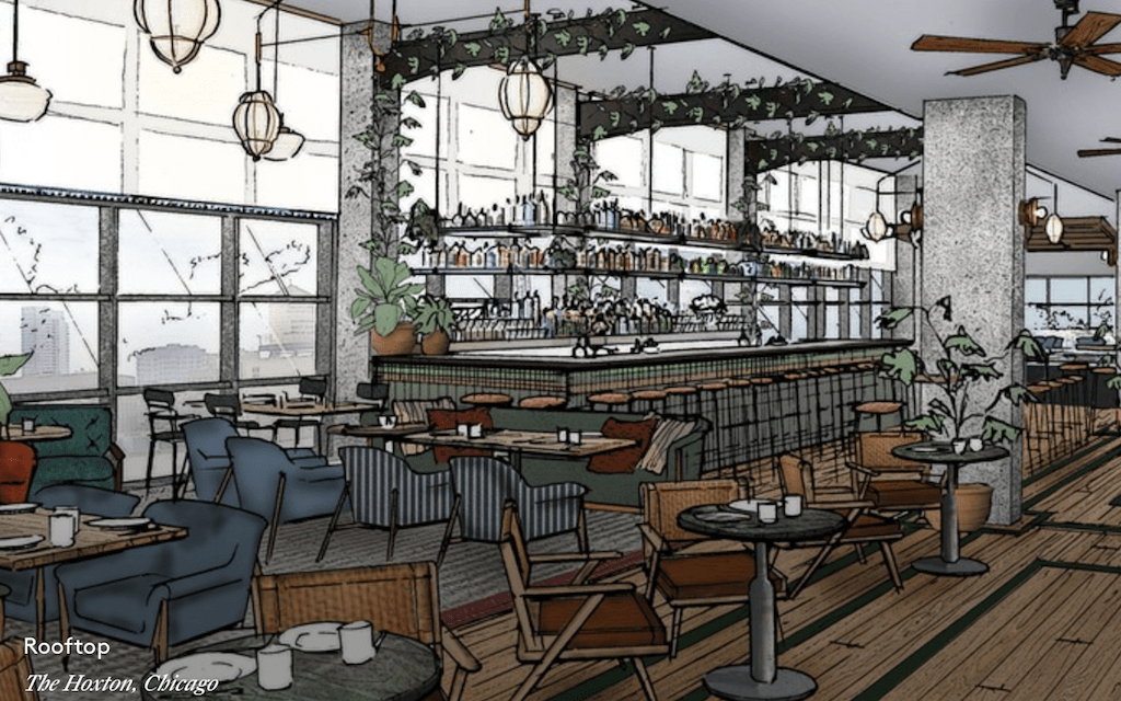 Rendering of Hoxton Chicago