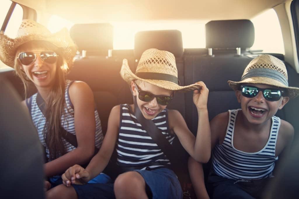 road trip, kids