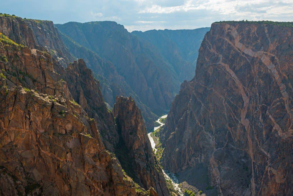 Colorado, Black Canyon, Gunnison National Park